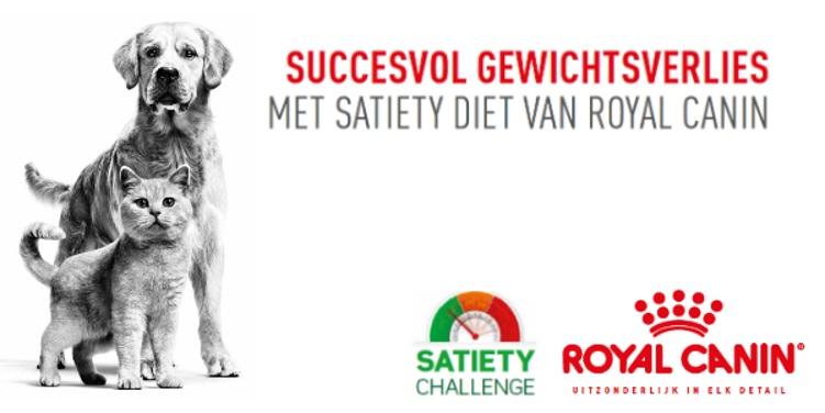 Royal Canin Satiety Challenge Gewichtsbegeleiding Afvallen