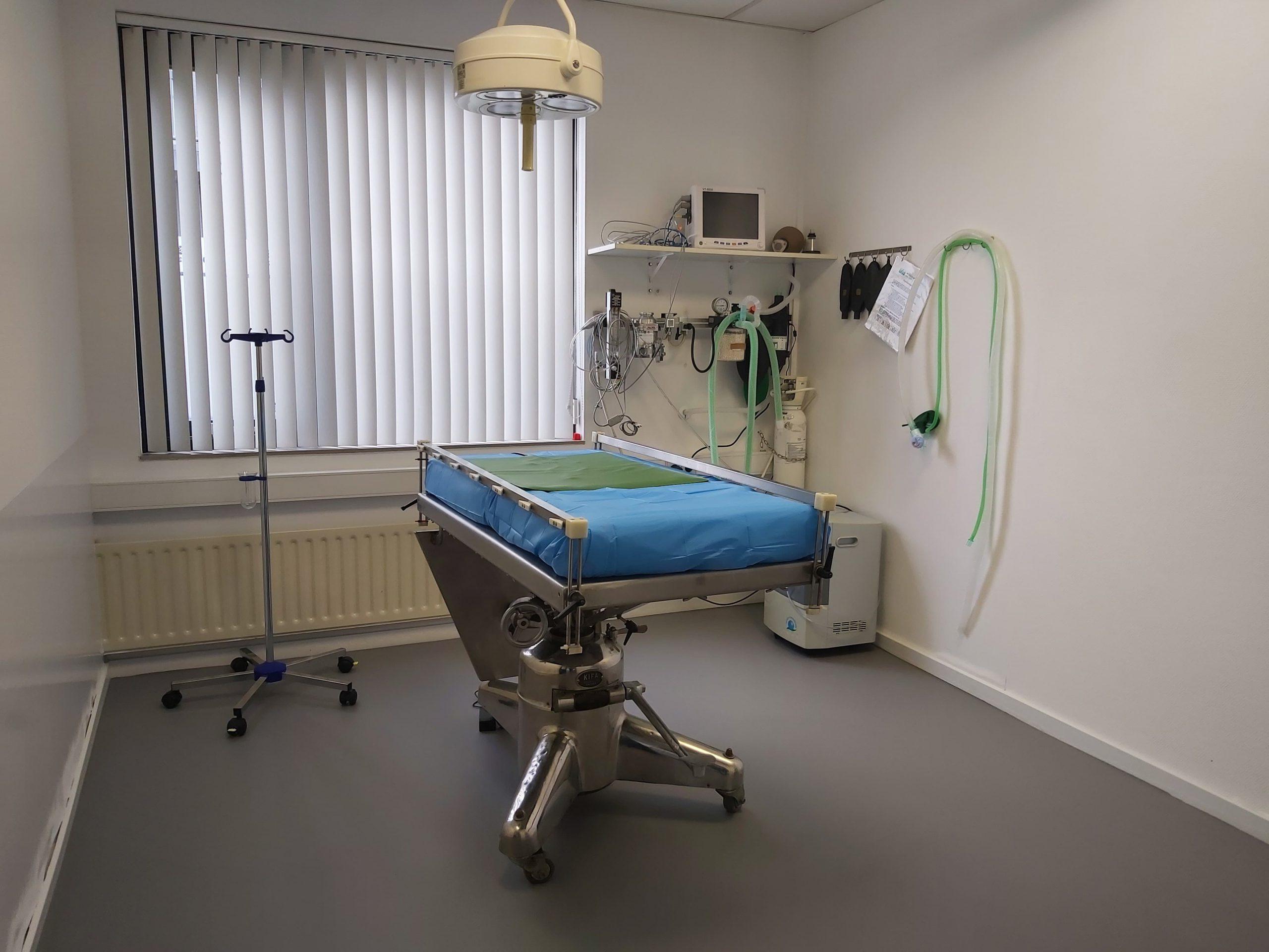 Operatiekamer apparatuur gasanesthesie monitoring