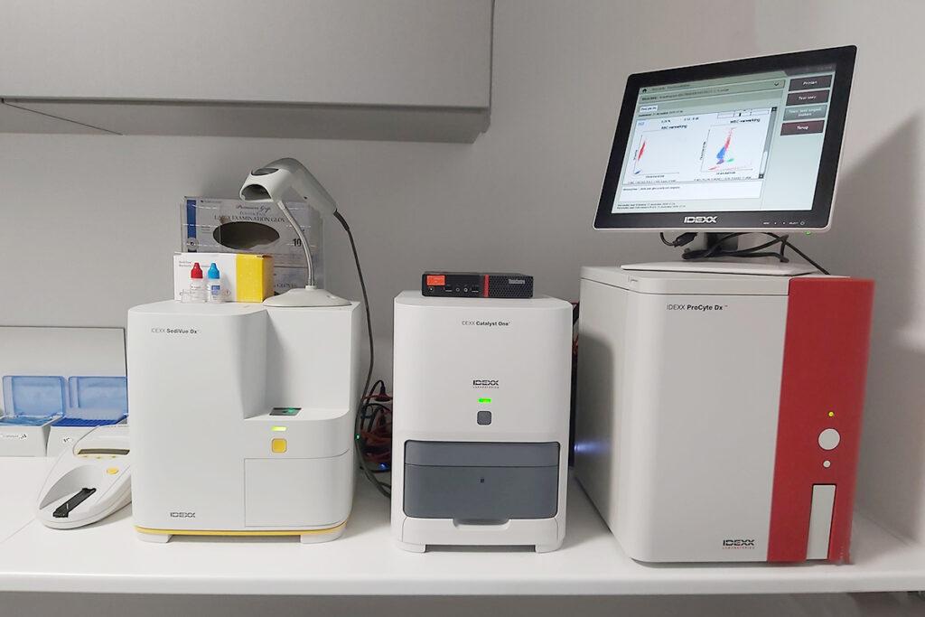 Idexx, Procyte, Bloed, bloedanalyse, apparatuur, laboratorium